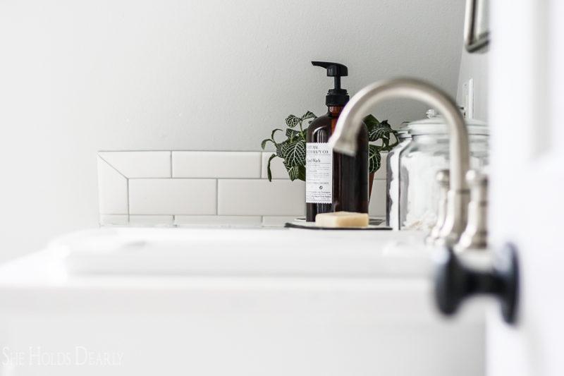 Modern Cottage Bathroom by sheholdsdearly.com
