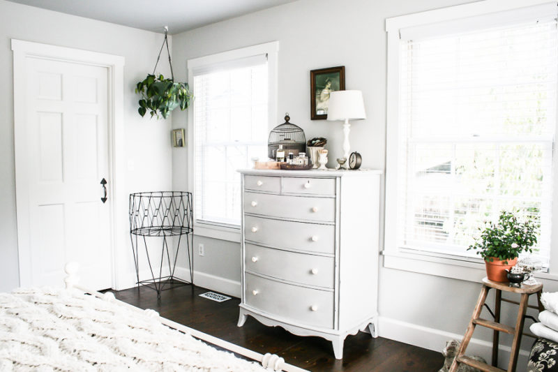 Modern Farmhouse Master Bedroom by sheholdsdearly.com