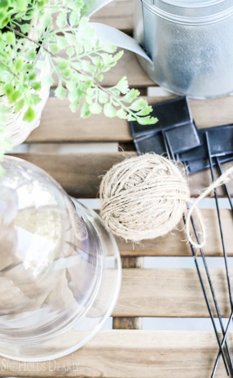 Spring Decor for Porch by sheholdsdearly.com
