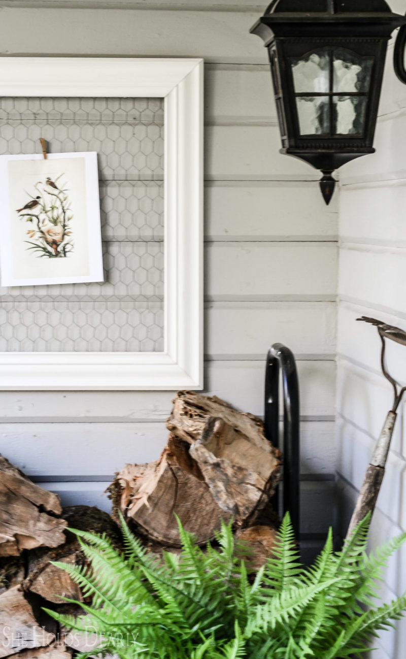 Vintage Style Porch Ideas by sheholdsdearly.com