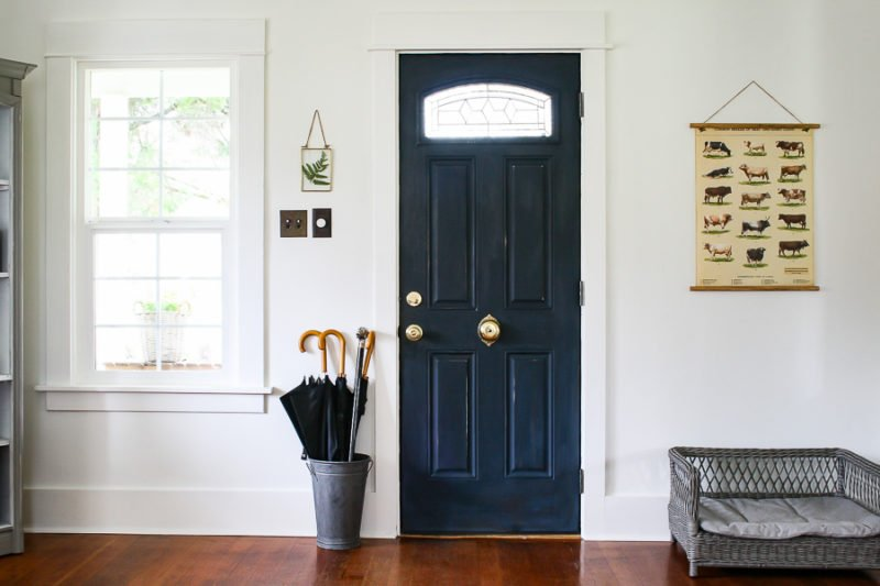 Blue Front Door by sheholdsdearly.com