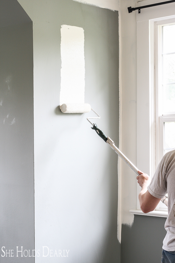 Painting a Room Quickly by sheholdsdearly.com