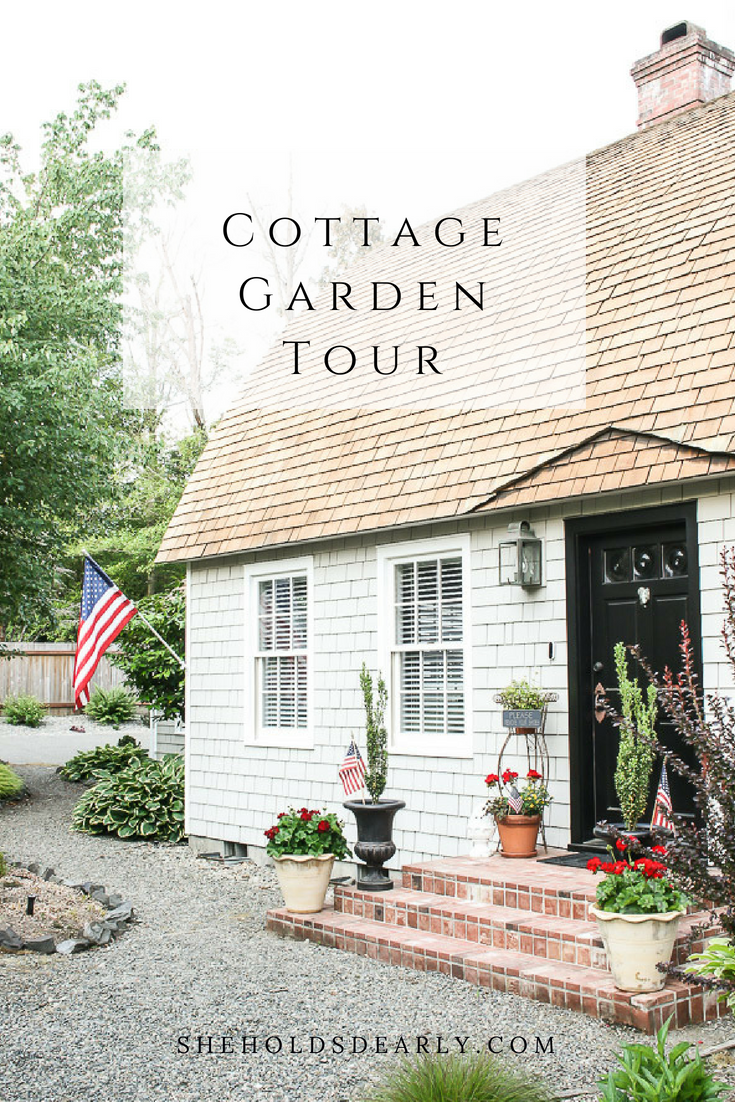 This is is such a charming garden tour, complete with a green house, lakeside view and fenced in garden with raised beds.