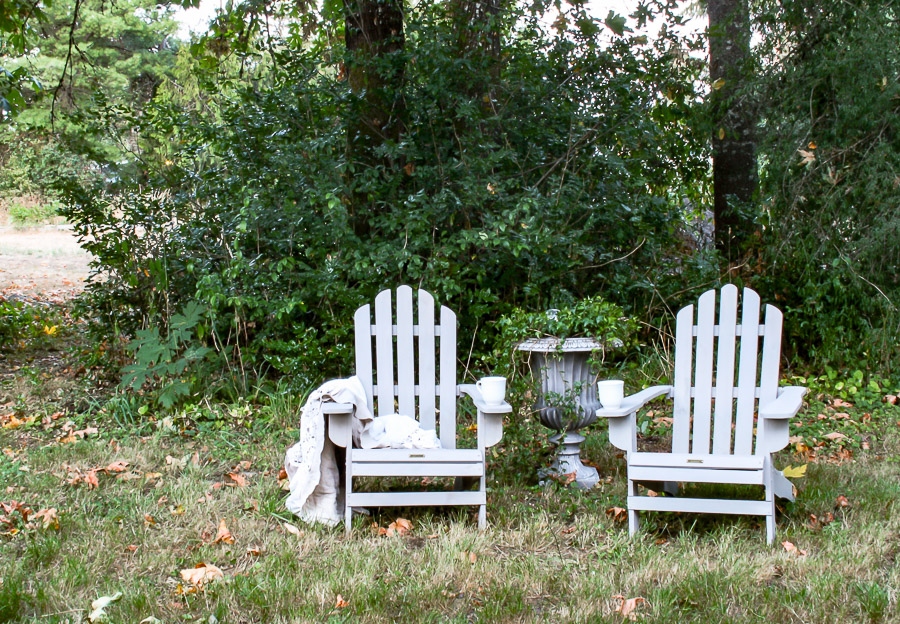 Adirondack Chairs DIY by sheholdsdearly.com