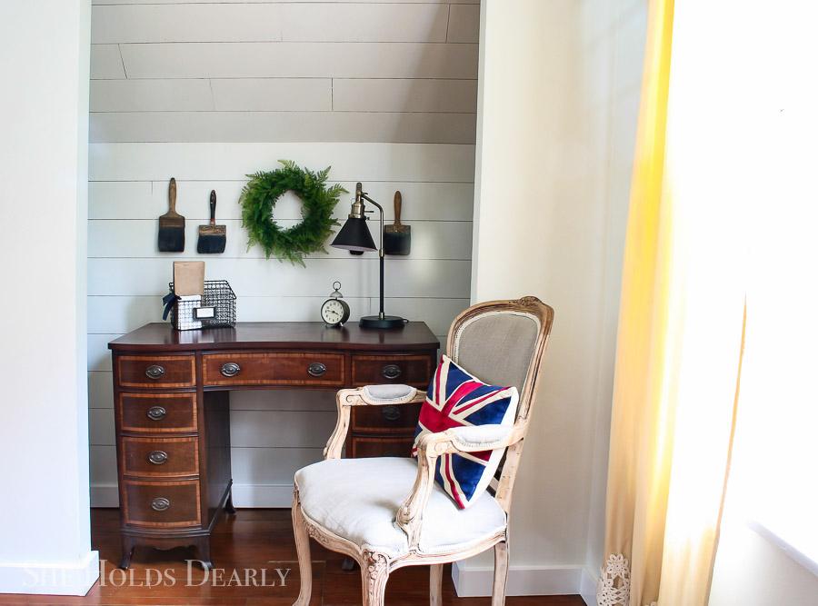 Closet Office by sheholdsdearly.com