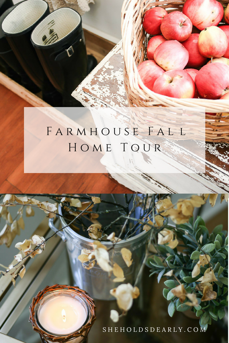 Farmhouse Fall Home Tour by sheholdsdearly.com