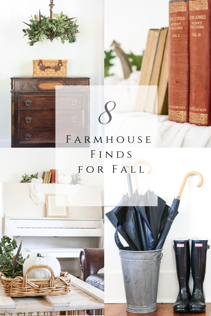 Farmhouse Finds for Fall by sheholdsdearly.com