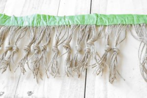 DIY Tassle Trim by sheholdsdearly.com