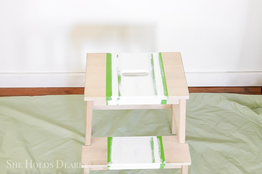 Grainsack Ikea Stepstool by sheholdsdearly.com