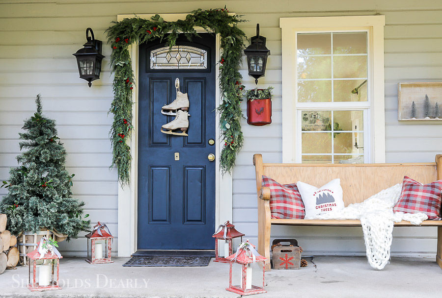 Christmas Porch Tour