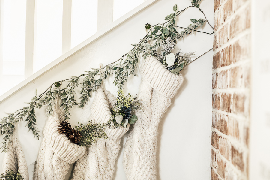 Farmhouse Style Cozy Christmas by sheholdsdearly.com