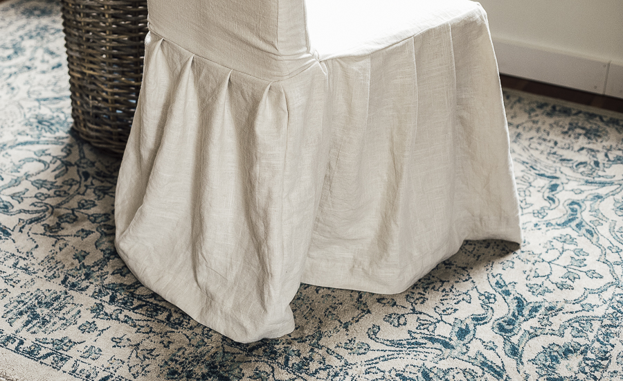 Diy Slipcover Tutorial by sheholdsdearly.com