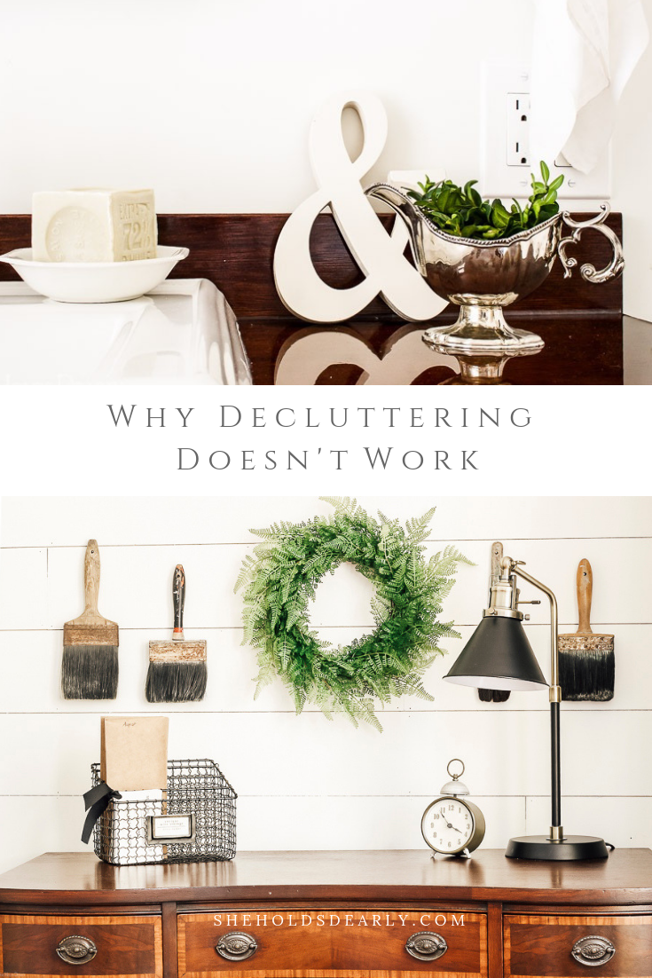 Whole House Declutter by sheholdsdearly.com