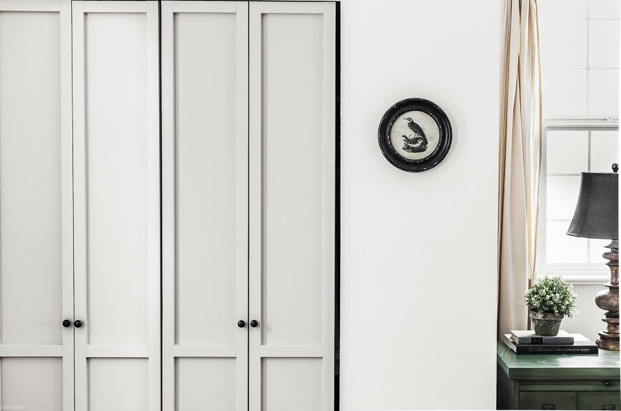 Shaker Style Closet Doors by sheholdsdearly.com