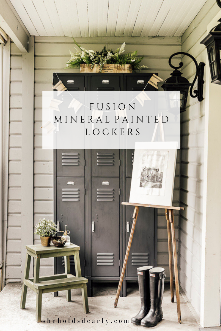Fusion Mineral Painted Lockers by sheholdsdearly.com