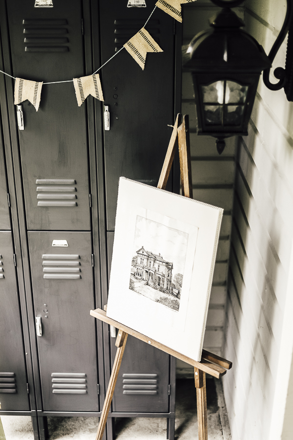 Painted Lockers Ideas by sheholdsdearly.com