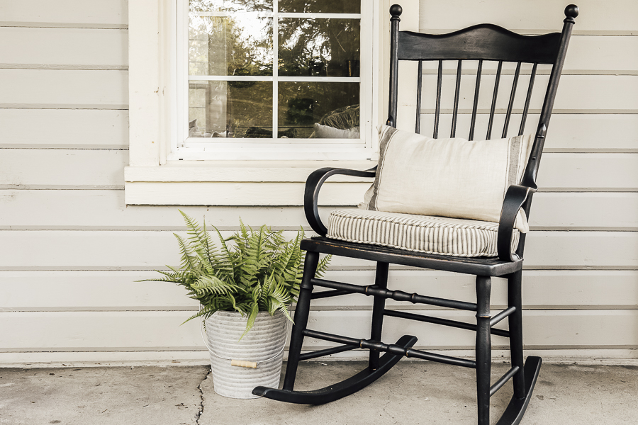 Porch Rocking Chair by sheholdsdearly.com