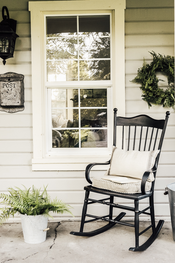 Rocking Chair Makeover by sheholdsdearly.com