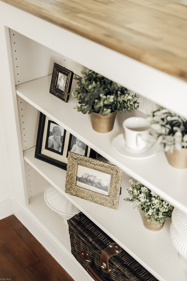 Spring Home Tour Decorating Ideas by sheholdsdearly.com