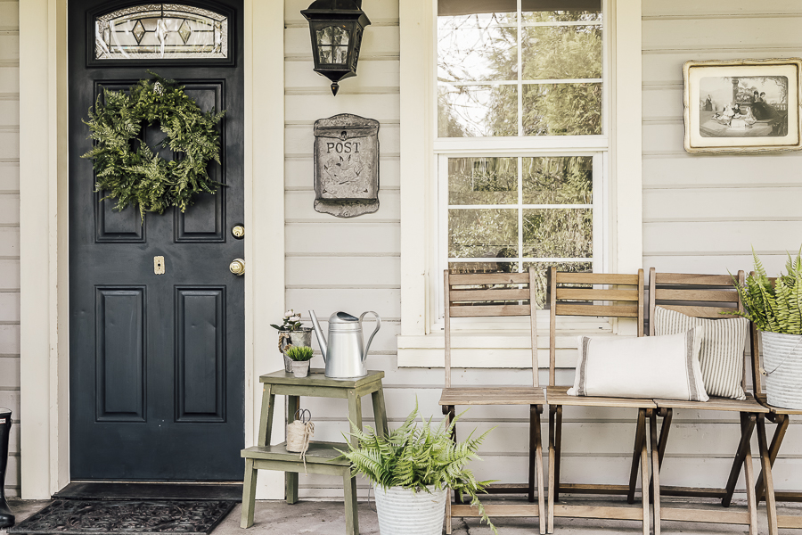 Spring Porch by sheholdsdearly.com