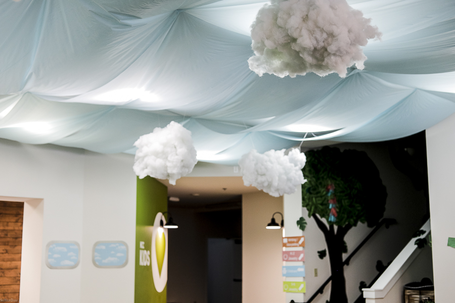 Airplane Party Ceiling Decor by sheholdsdearly.com