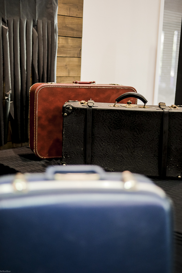 Antique Luggage by sheholdsdearly.com