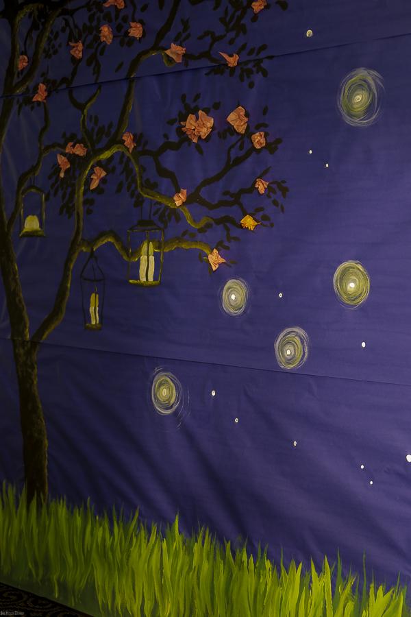 Cherry Blossom Mural by sheholdsdearly.com
