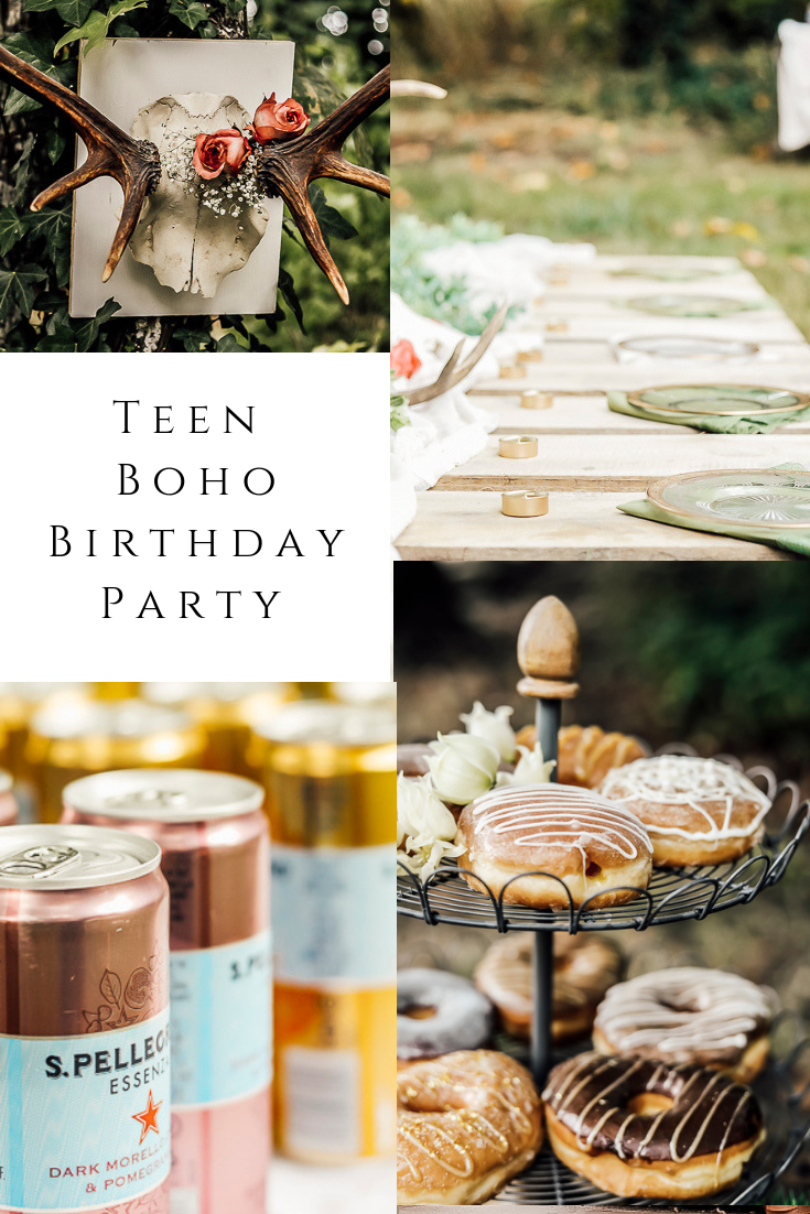 Boho Teen Birthday Party by sheholdsdearly.com