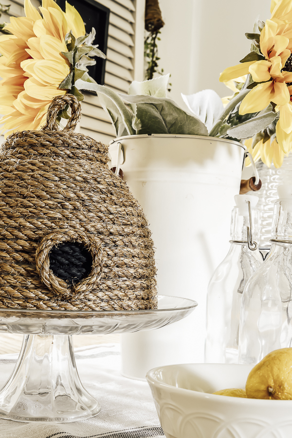 Faux Bee Skep by sheholdsdearly.com