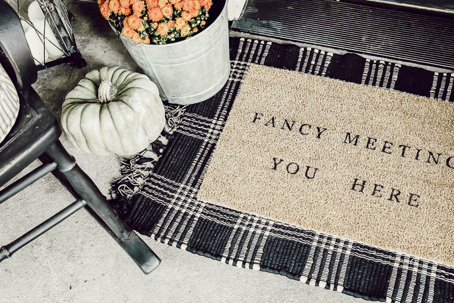 Layered Doormats by sheholdsdearly.com