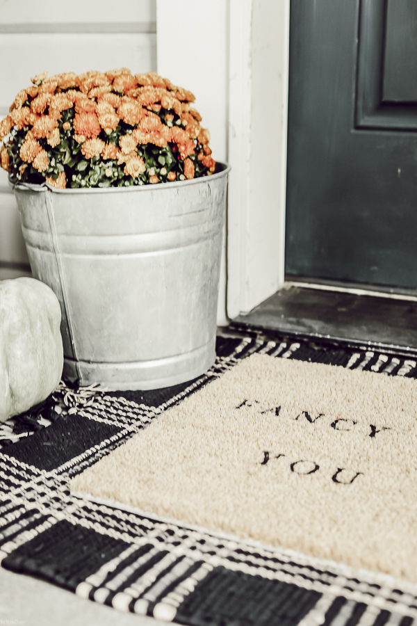 Layered Welcome Mats by sheholdsdearly.com
