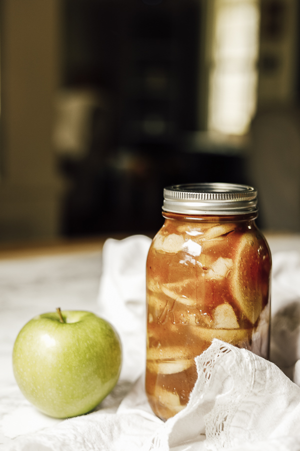 Apple Pie Canning by sheholdsdearly.com