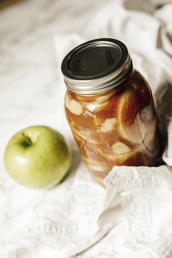 Apple Pie Filling Easy by sheholdsdearly.com