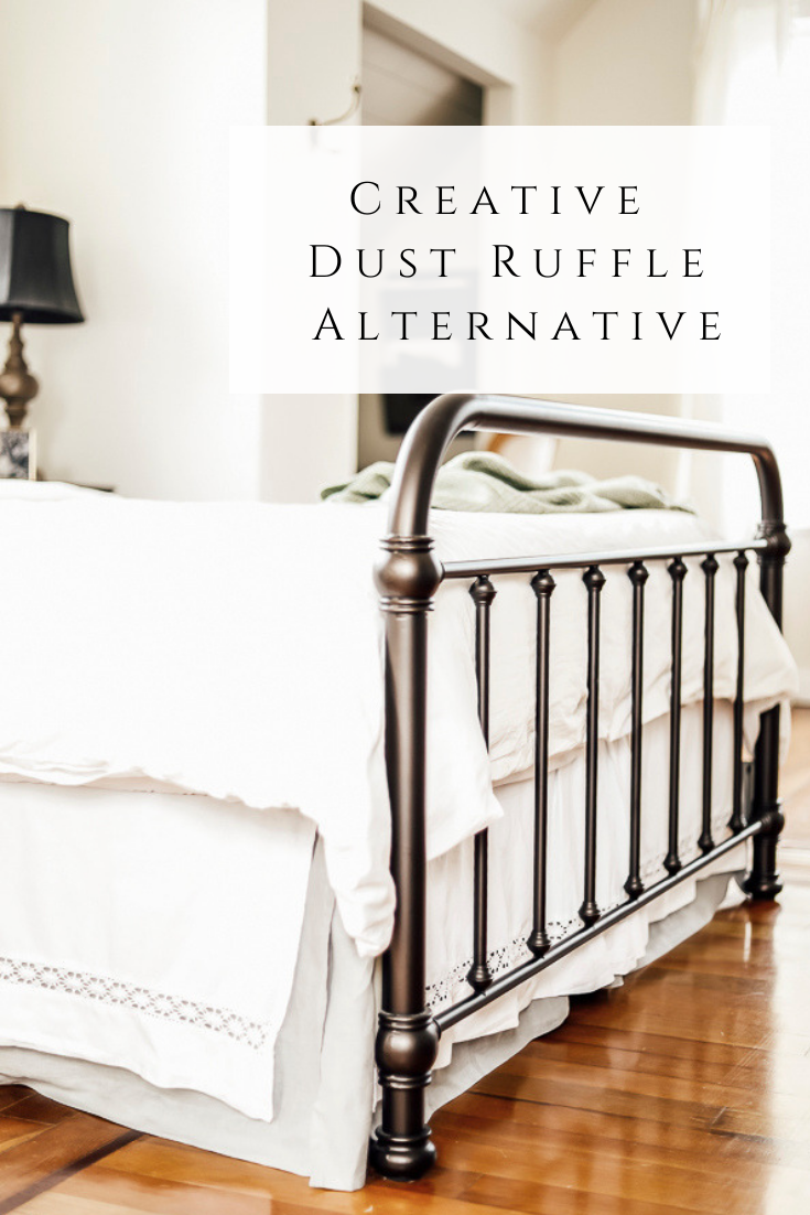 Creative Dust Ruffle Alternative by sheholdsdearly.com