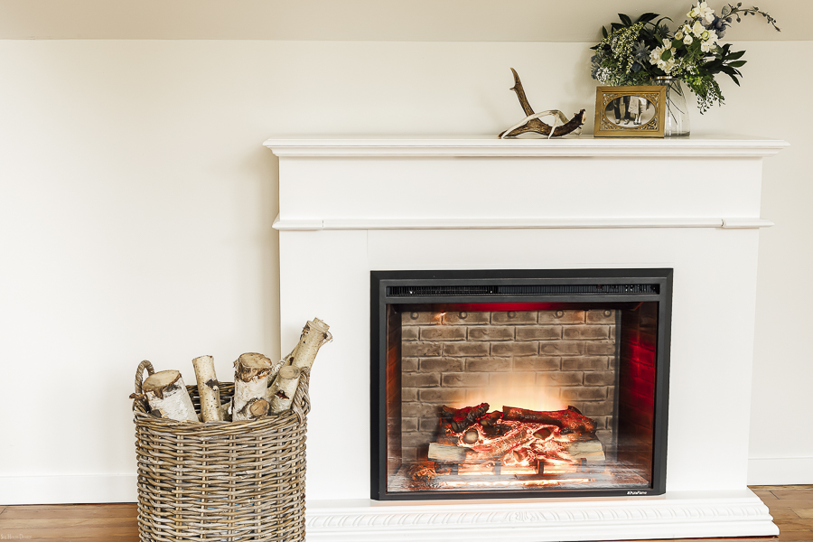 Electric Fireplace Mantle by sheholdsdearly.com
