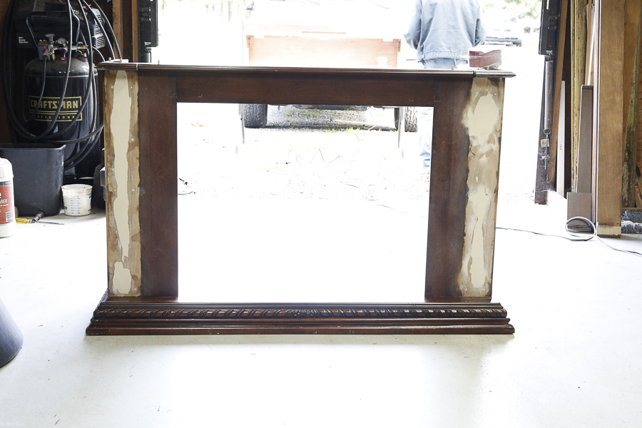 Upcycled Mantle by sheholdsdearly.com