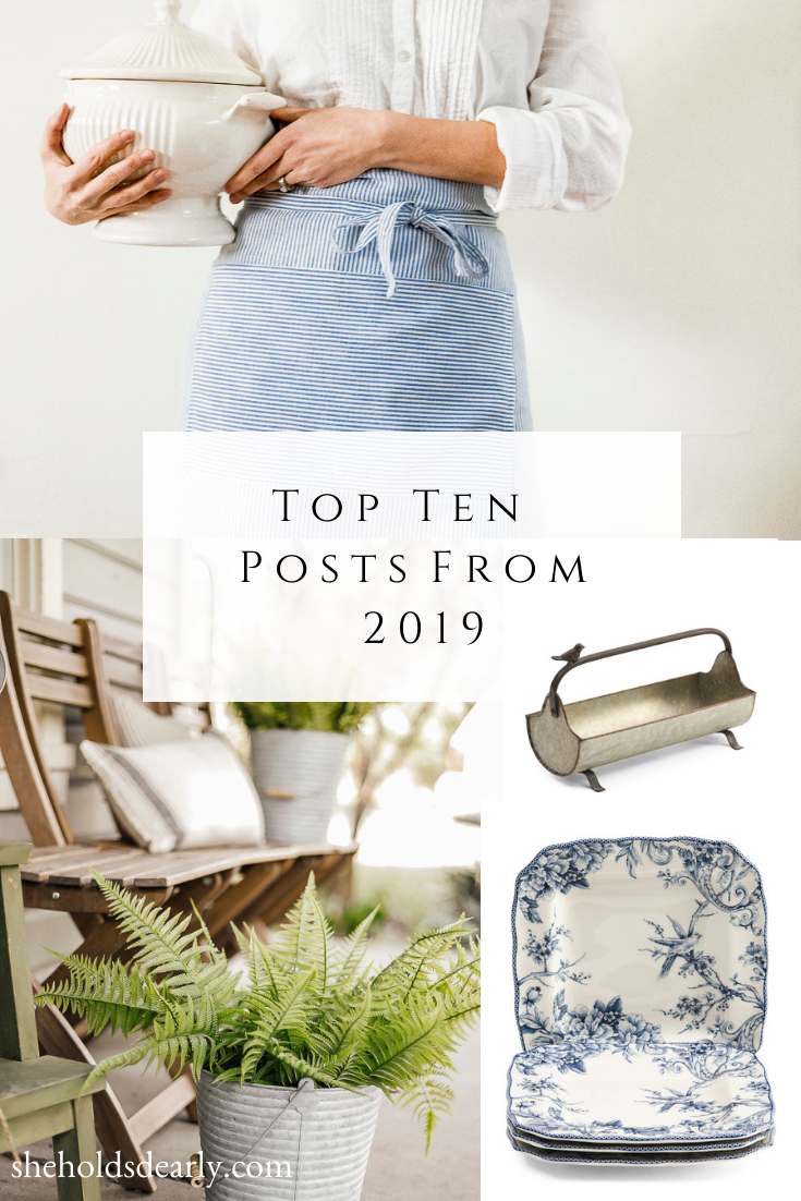 Top Ten Posts From 2019 | She Holds Dearly Blog