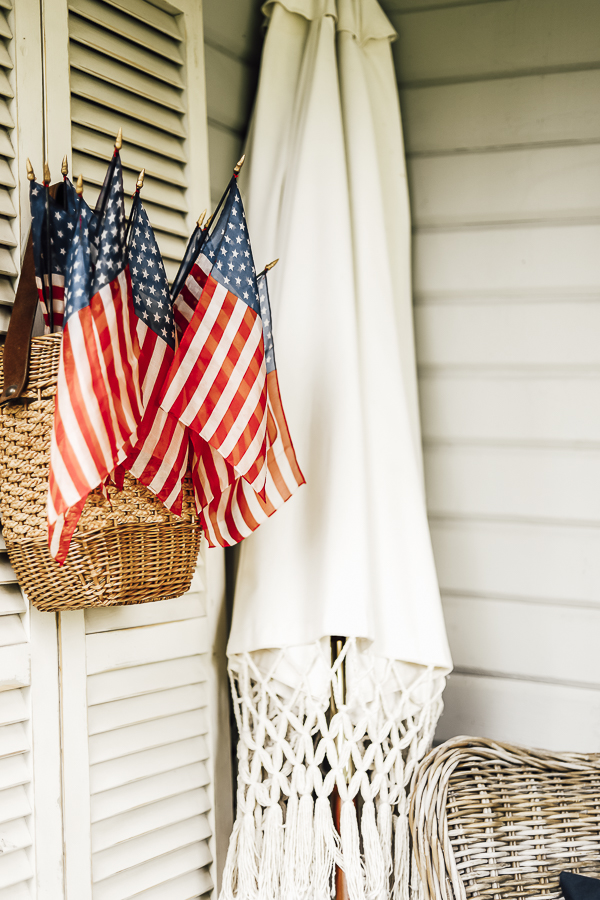 Farmhouse Summer Porch Decor Ideas by sheholdsdearly.com