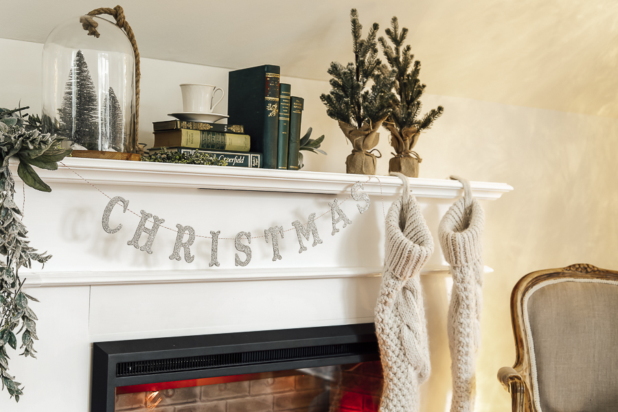 How to Decorate a Mantle by sheholdsdearly.com