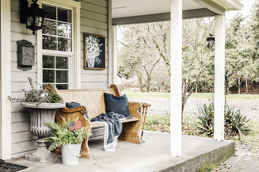 Patriotic Porch by sheholdsdearly.com