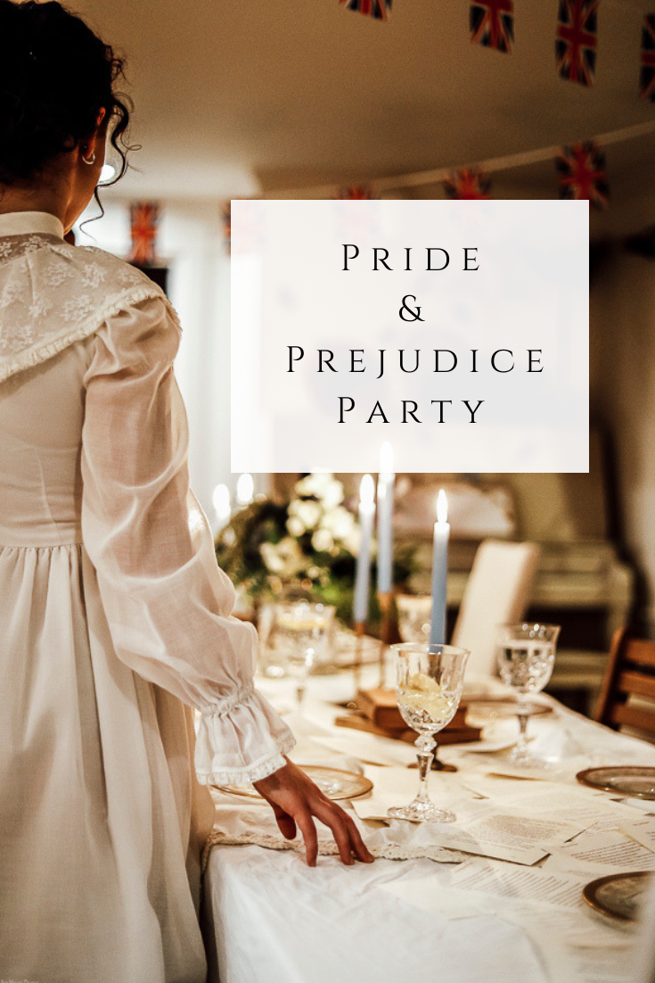 Pride and Prejudice Party by sheholdsdearly.com