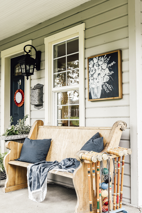 Summer Porch Designs by sheholdsdearly.com
