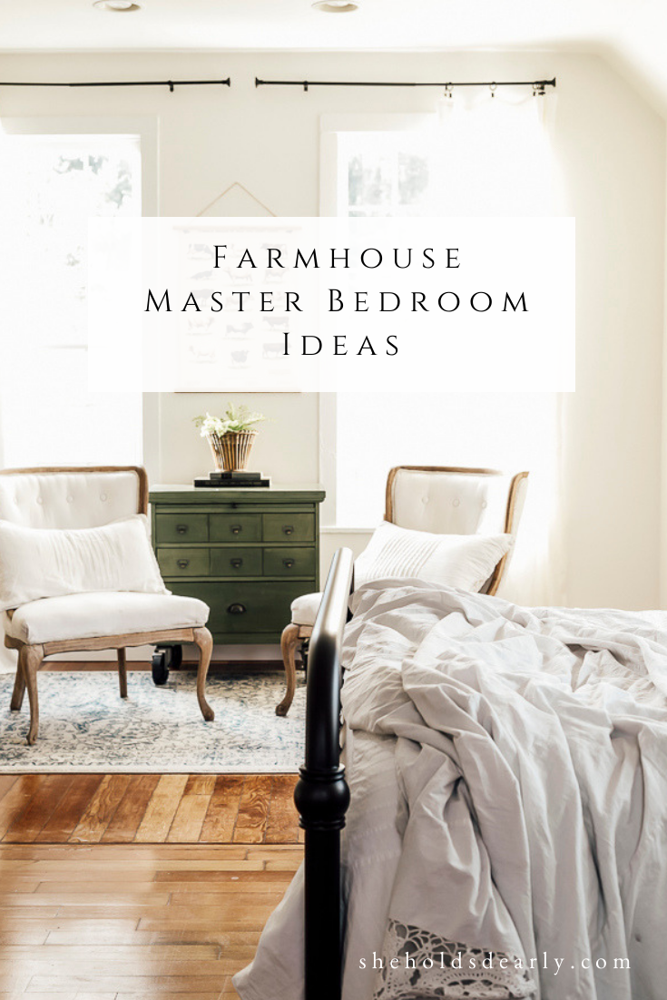Master Bedroom Update Goals by sheholdsdearly.com