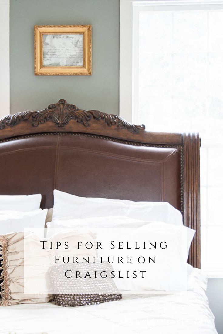 Tips for Selling Furniture on Craigslist by sheholdsdearly.com