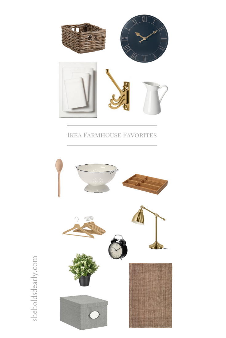 40 Farmhouse Favorites from Ikea by sheholdsdearly.com