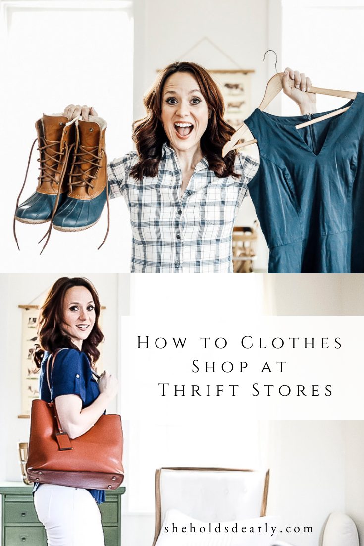 How to Clothes Shop at Thrift Stores