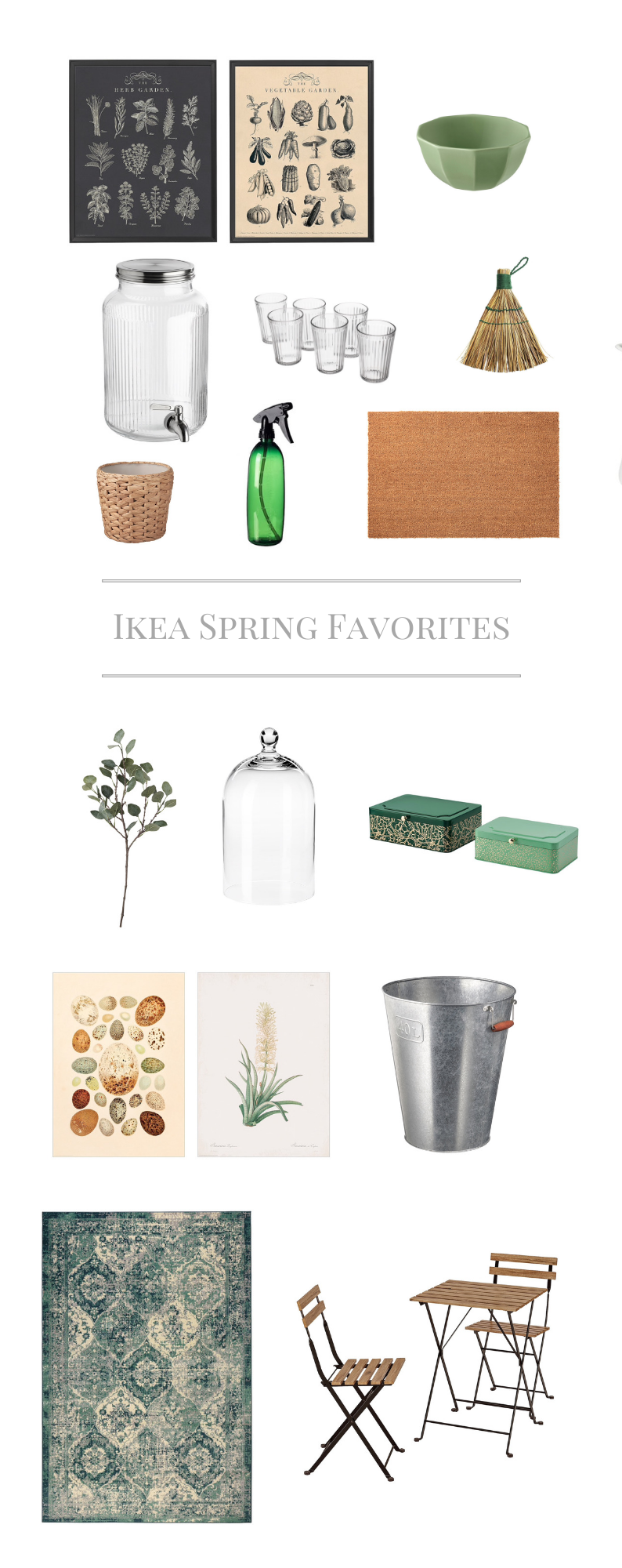 Ikea Farmhouse Spring New 2020 by sheholdsdearly.com