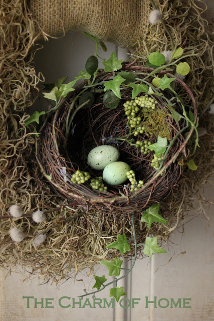 DIY Birds Nest Spring Craft
