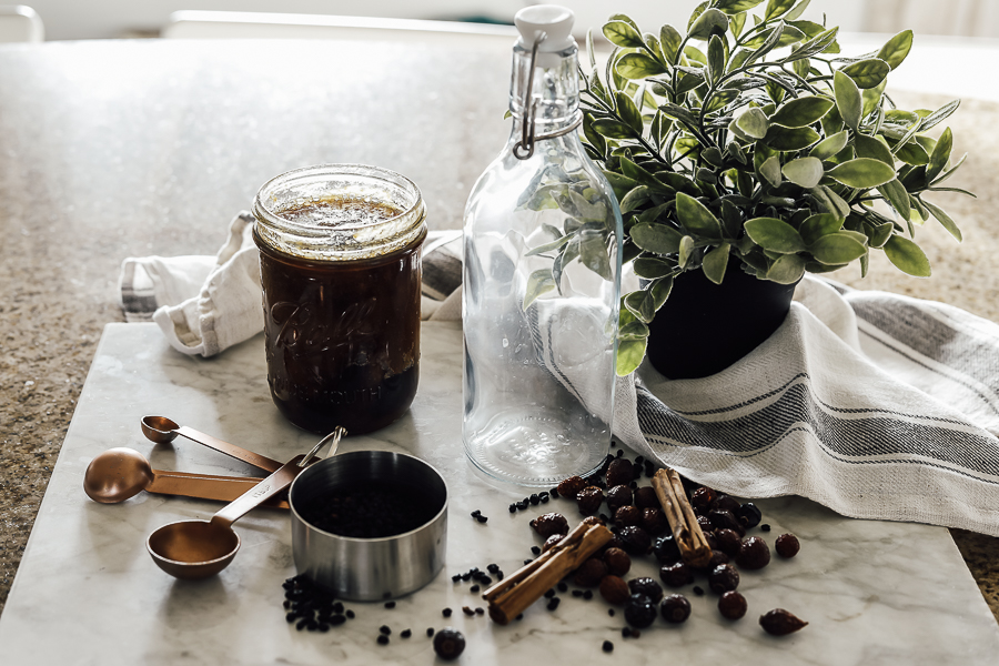 Homemade Elderberry Syrup Natural Immunity Booster by sheholdsdearly.com