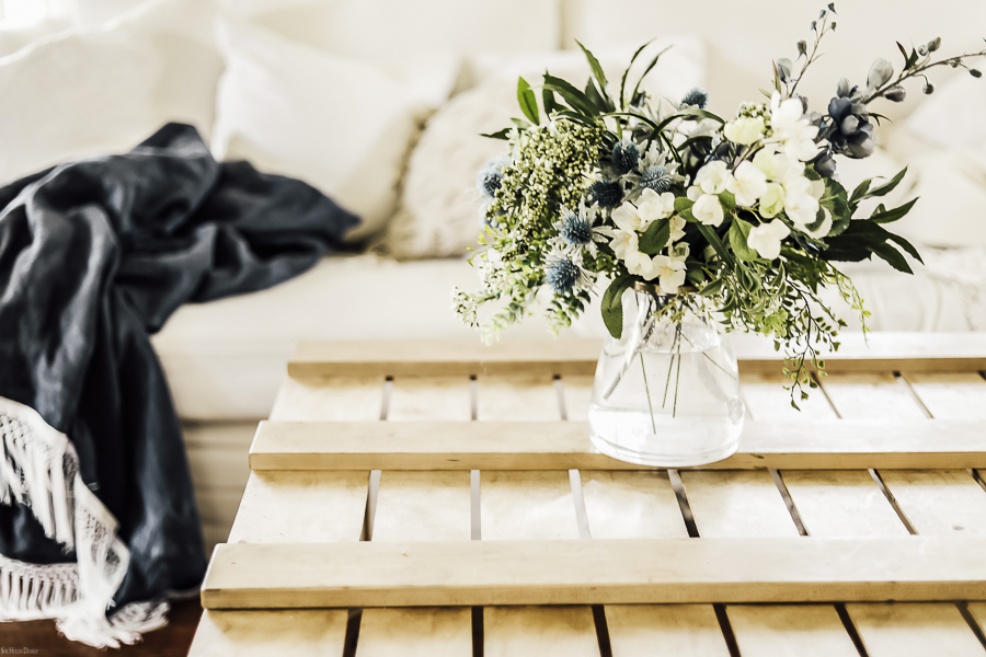 How to Arrange Flowers Step by Step by sheholdsdearly.com